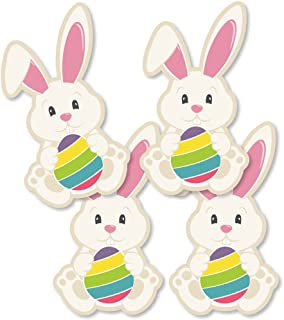 Hippity Hoppity - Bunny Decorations DIY Easter Party Essentials - Set of 20