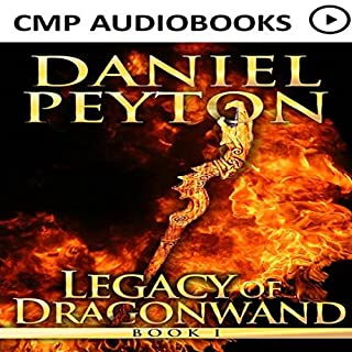The Legacy of Dragonwand audiobook cover art
