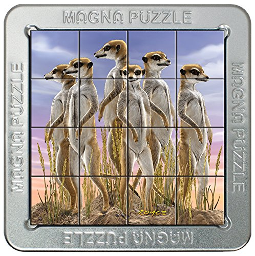 Cheatwell Games 3D Magnetic Puzzle Meerkat Family