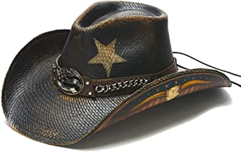 Stampede Hats Men's Land of Liberty Lone Star Chain Western Hat