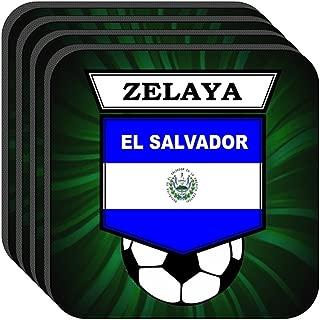 Rodolfo Zelaya (El Salvador) Soccer Set of 4 Coasters