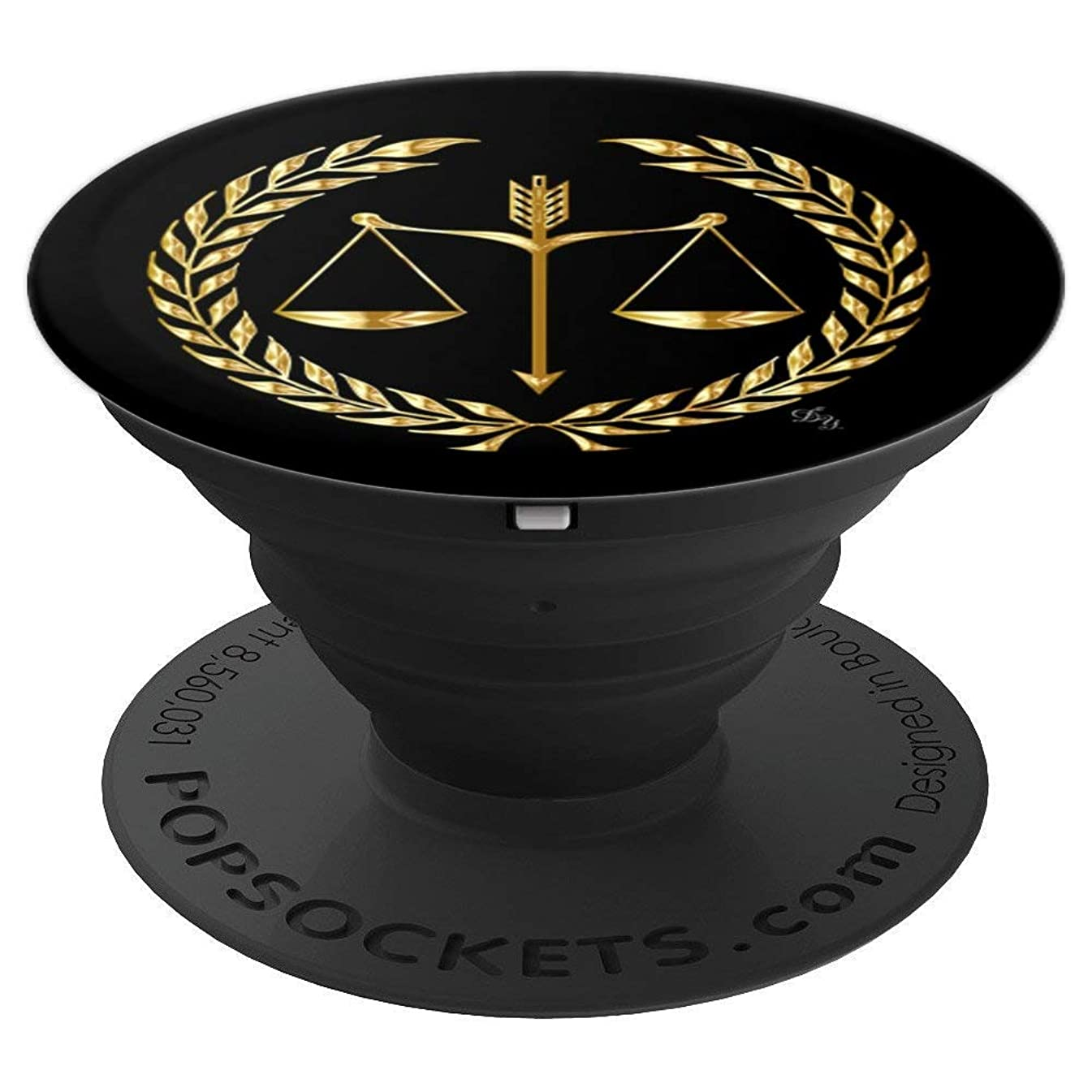 I'm A Lawyer Scales of Justice Trust Me Attorneys Gift Idea - PopSockets Grip and Stand for Phones and Tablets