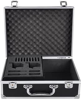 AW Professional Tattoo Kit Case W/Lock Key Aluminum Carry Storage Supply Bag Potable 12x9x4