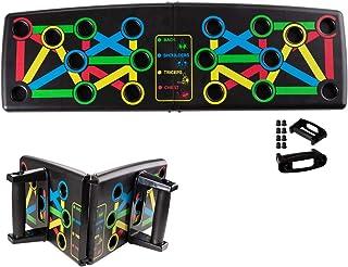 Locisne Portable 14-en-1 Ultra Push Up Board Bracket Board Multifunctional Arm Système de formation des muscles abdominaux...