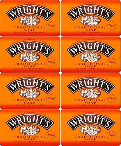 by Wrights Wrights Traditional Soap Bar 125g x 8 Bars