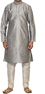 Indian Traditional Wear Men's Kurta Pajama Set Eid Special Bollywood Dress