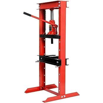 Titan 12 Ton Hydraulic Shop Floor Press H Frame 24000 lb w// Heavy Duty Steel Plates