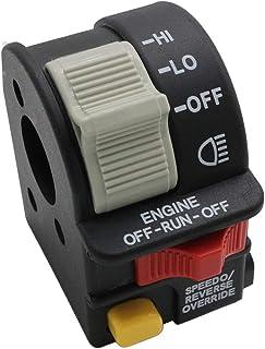 CNCMOTOK Left Hand Hi/Lo/On/Off Kill Key Start Handlebar Beam Light Switch for Polaris Sportsman 400 500 700 800 Magnum 325 330 500 Replace # 4010591