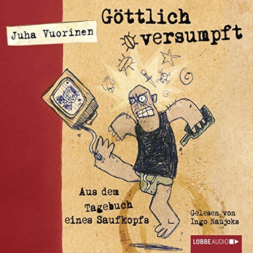Göttlich versumpft audiobook cover art