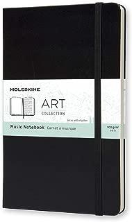 Moleskine Art Music Notebook, Hard Cover, Large (5