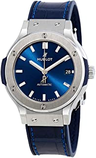 Hublot Classic Fusion Blue Sunray Dial Titanium 38mm Automatic Men's Watch 565.NX.7170.LR