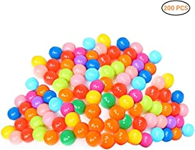 LittleTom 200 Boules color/ées /Ø7cm piscines Enfant m/élange de 5 Couleur