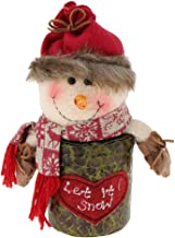 Prettyia Christmas Candy Buffet Gift Packing Box Xmas New Year Party Ornament Table Decor - Snowman, 20 x 11 x 23 cm