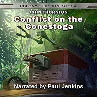 Conflict on the Conestoga audiobook cover art