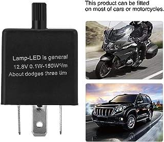 12 V 3 Pin Auto LED Blinkrelais, Keenso Einstellbare LED Blinkrelais CF13 JL02 Fix für Blinker Blinkleuchte