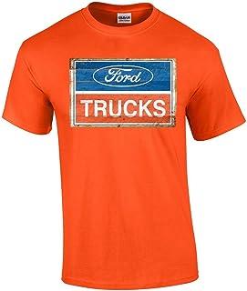 American Ford Trucks Logo Adult T-Shirt