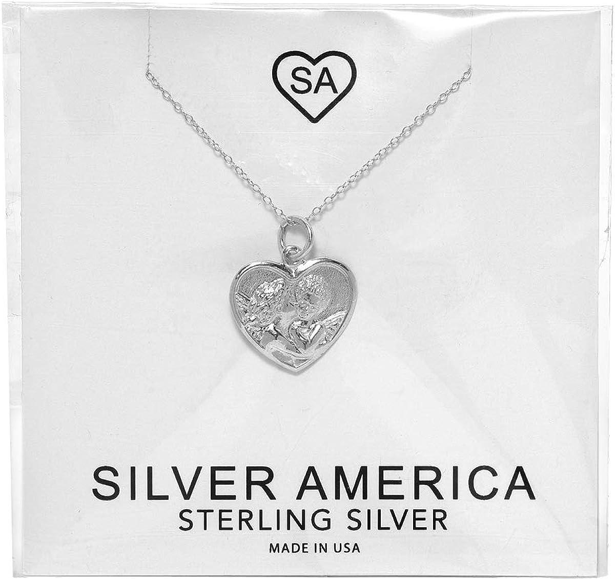 Sterling Silver City Pride Penadant Necklace
