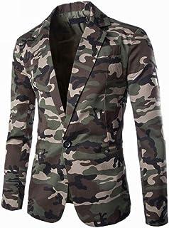 DOLAA Blazer da Uomo Blazer da Uomo Sporty Slim Fit Modern Leisure Jacket Men Jacket Sporty Slim Fit Leisure Blazer Men Bl...