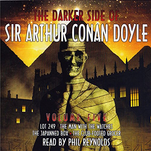 The Darker Side Of Sir Arthur Conan Doyle cover art