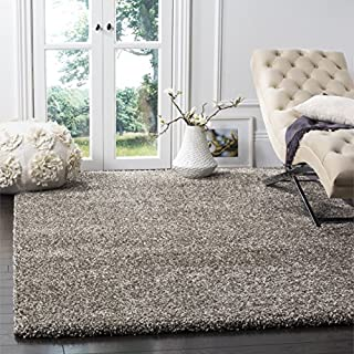 Safavieh Milan Shag Collection SG180-8080 Grey Area Rug (10' x 14') (B00OHYNPDE) | Amazon price tracker / tracking, Amazon price history charts, Amazon price watches, Amazon price drop alerts