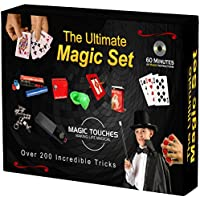 Magic Touches Magic Tricks Set for Kids with Over 200 Tricks