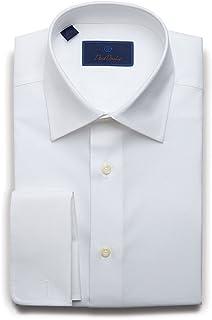 Men's Regular Fit Micro Birdseye French Cuff Dress Shirt