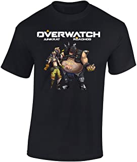 Overwatch Art Roadhog and Junkrat Graphic T-Shirt