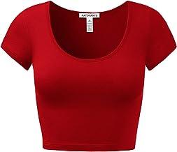 broomstick front small size cropped length short sleeves dirndl top Red vintage crop top octoberfest elastic bottom