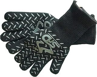 Guantes de cocina resistente al calor–SPD 932°F protección extrema alta temperatura de calor barbacoa guantes, guantes de horno, soldadores guantes de horno de aramida Kevlar–Manga Larga