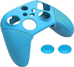 Prettyia Capa protetora de controle para controle Xbox Series S X, capa de silicone antiderrapante macia, protege contra p...