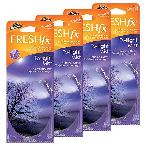 Armor All FRESHfx Car Air Freshener Hanging Card, 12-Count (Twilight Mist)
