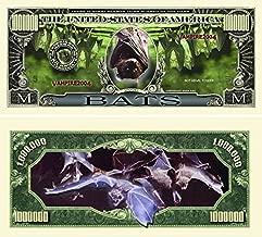 Set of 5 - Bats Million Dollar Bill
