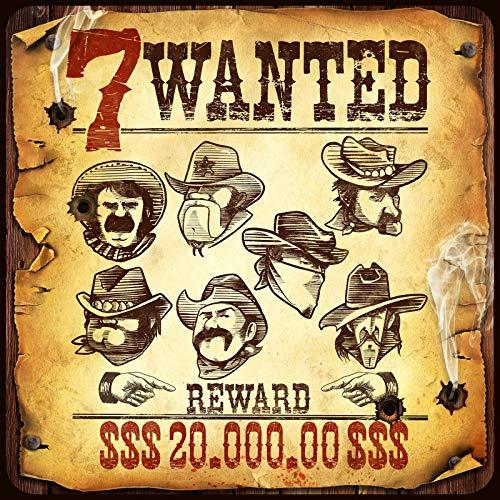 GM Games - Wanted 7 Juego de cartas, GDM122