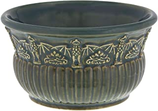 Disney Parks Haunted Mansion Bat Stanchion Gargoyle Ceramic Appetizer Bowl