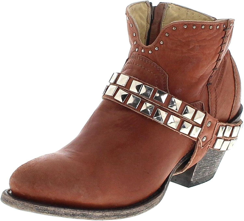 FB Fashion Stiefel Corral Stiefel Stiefel G1400 G1400 Tan Damen Stiefelette Braun Damenschuhe Damen Stiefel  bequem