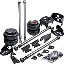 Universal Weld-On Triangulated Rear 4 Link Suspension Kits for Truck SUV with Two 2500 Air Bags and Rear Air Bag Mounts