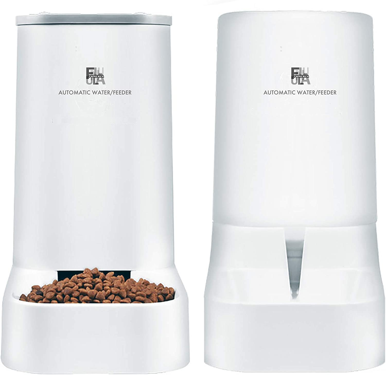 Pet Food Feeder Max 87% OFF and Water Self-Dispensing Gravity excellence Automat