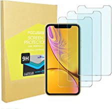 Privacy Screen Protector iPhone Japan Tempered Glass XR [Anti-Blu-ray] Anti-Glare Full Cover Screen Foil Cover iPhone XR [3D Touch] [3pack] 2.5d / CaseFriendly/Focuses