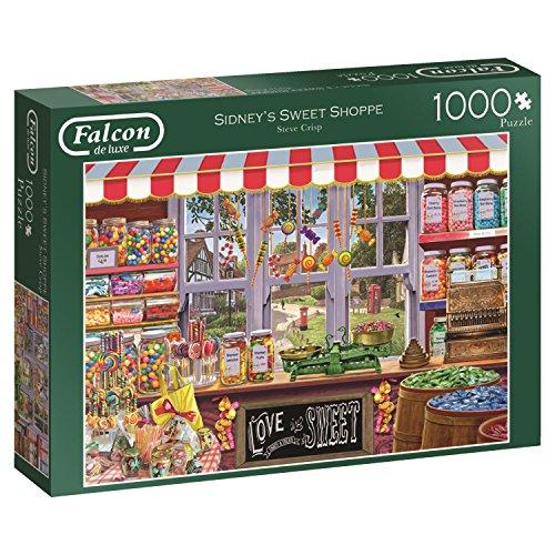 Jumbo- Sidney's Sweet Shoppe Puzzle de 1000 Piezas (611180.0)
