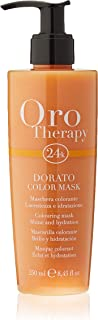 Fanola Official Oro Therapy Dorato Coloured Hair Mask 250ml