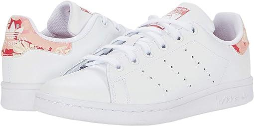 Footwear White/Footwear White/Power Pink