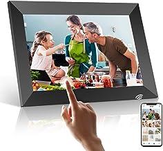 WiFi Digitaler Bilderrahmen, PODOOR Touch Elektronischer Bilderrahmen 10.1 Zoll Smart Fotorahmen 1080P mit 16 GB Speicher,...