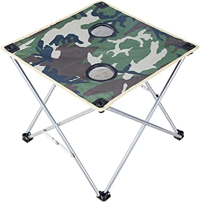 Juego de mesa plegable para exterior Mesa de comedor Picnic Barbacoa Mesa plegable para camping Juego