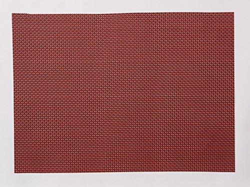 Pichler TWIST Tischset in Flechtoptik 35x48cm in verschiedenen Farben (bordeaux)