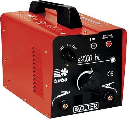 Solter 03057 Transformador de soldadura SB 2000BT, 6.2 W, 240 V