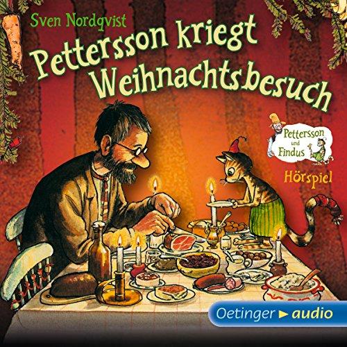 Pettersson kriegt Weihnachtsbesuch audiobook cover art