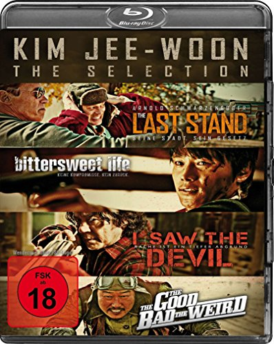 Kim Jee-Woon Selection : The Last Stand - Bittersweet Life - I Saw The Devil - The Good, The Bad, The Weird (4Blu-ray)