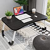 Homemaxs Laptop Desk for Bed,【2021 Upgraded】 Portable Laptop Bed Tray Table with Foldable Legs, Foldable Lap Desk for Eating, Working, Writing, Gaming, Drawing on Bed/Couch/Sofa/Floor