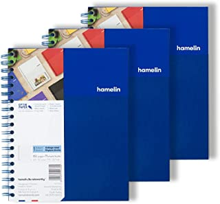 1 Subject College Ruled 8x10 Spiral Bound Notebook ELECTRIC Blue 3-PACK