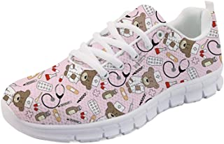 6c06c67871936 Nopersonality Baskets Mode Chaussures de Sport Femme Running Léger  Respirantes Course Sneakers Multisports Outdoor Casual